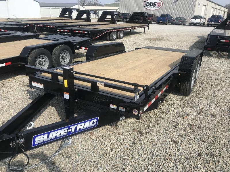 2020 Sure-Trac 7 x 18 Tilt Bed Equipment  16K