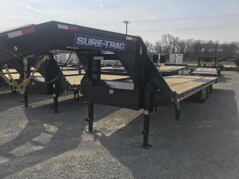 2020 Sure-Trac 8.5x22+10 LowPro Hyd Deckover Tandem GN