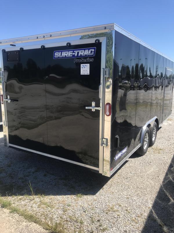 2021 Sure-Trac 8.5x20 Pro Series Wedge C. Hauler TA 10K