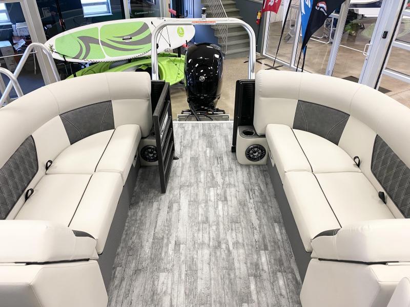 2021 Crest Classic DLX 220 Pontoon with TRAILER