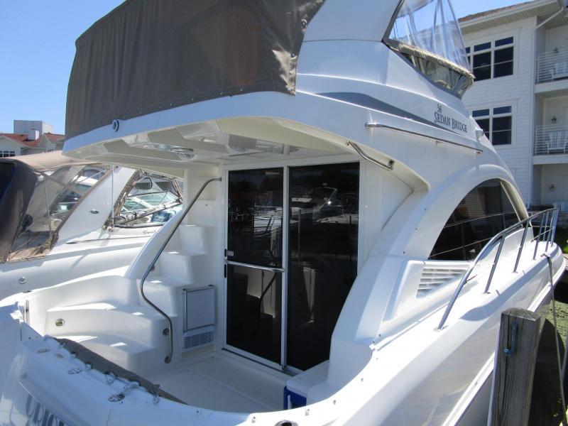 2007 Sea Ray 360 Sedan Bridge