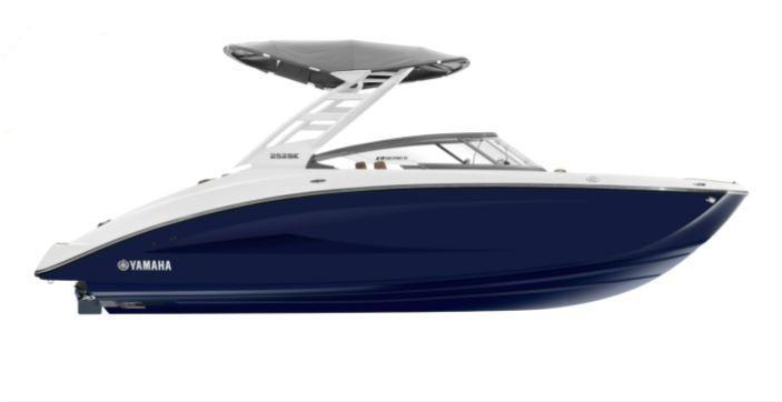 2022 Yamaha 252 SE Jet Boat Bow Rider