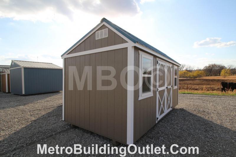 8X16 UTILITY STORAGE BUILDING