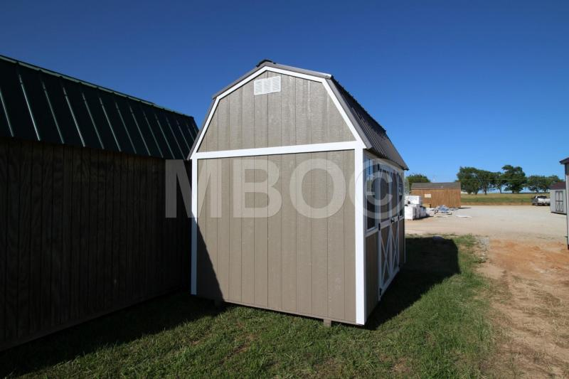 8X12 LOFTED BARN