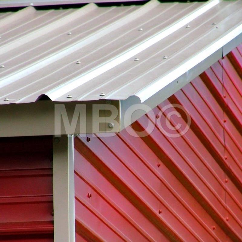 40X40X12 Vertical Roof Carport #CP116