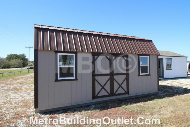 12x20 LOFTED BARN