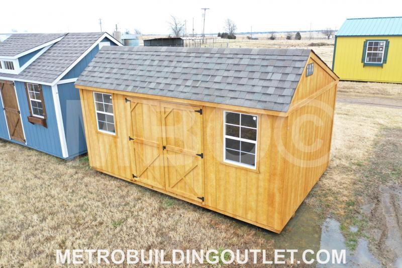 ***DISCOUNTED*** 10X16 UTILITY STORAGE BUILDING