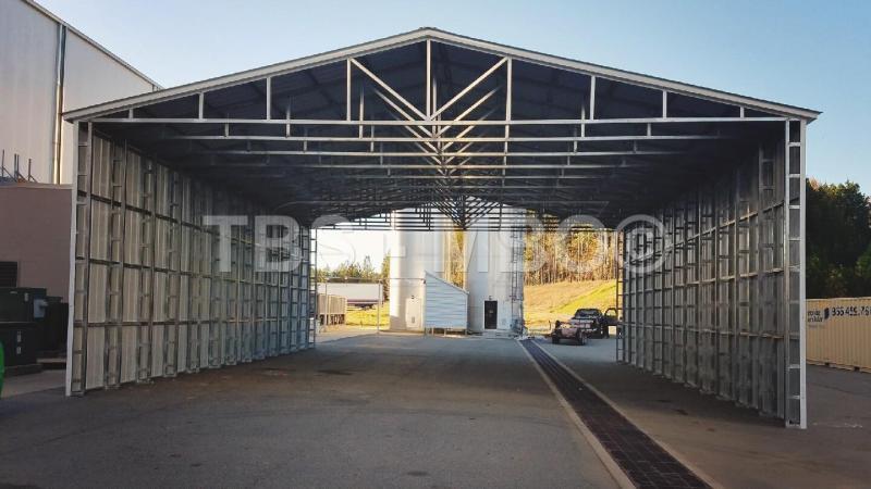 50X52X16 Vertical Roof Carport #CP114