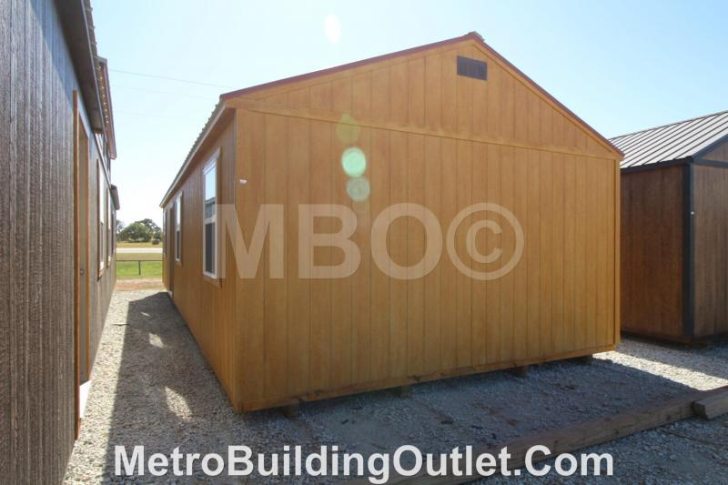 16x40 UTILITY CABIN FULLY FINISHED