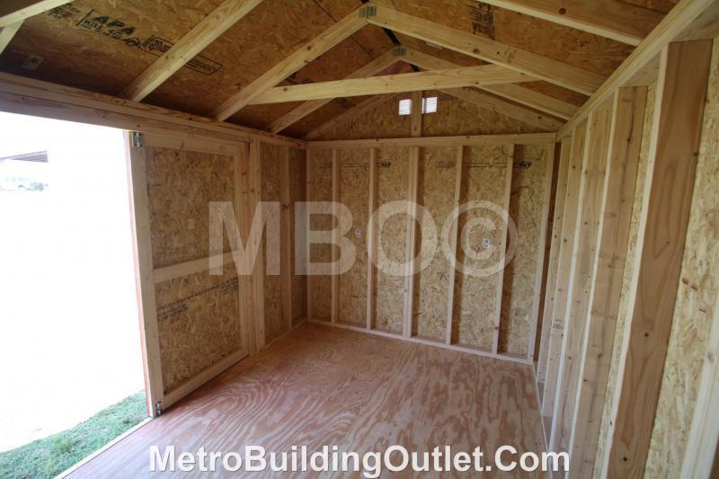 8X12 UTILITY STORAGE BUILDING