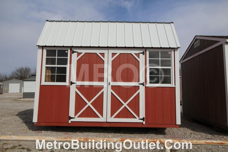 10x12 LOFTED BARN