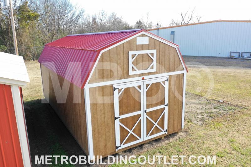 12x24 LOFTED BARN