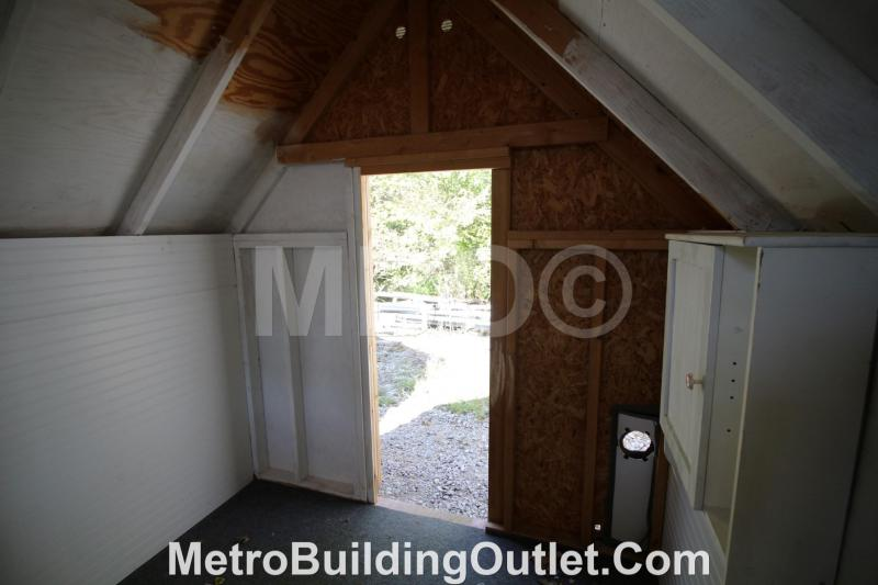 ***DISCOUNTED*** 8X12 HIDEOUT PLAYHOUSE