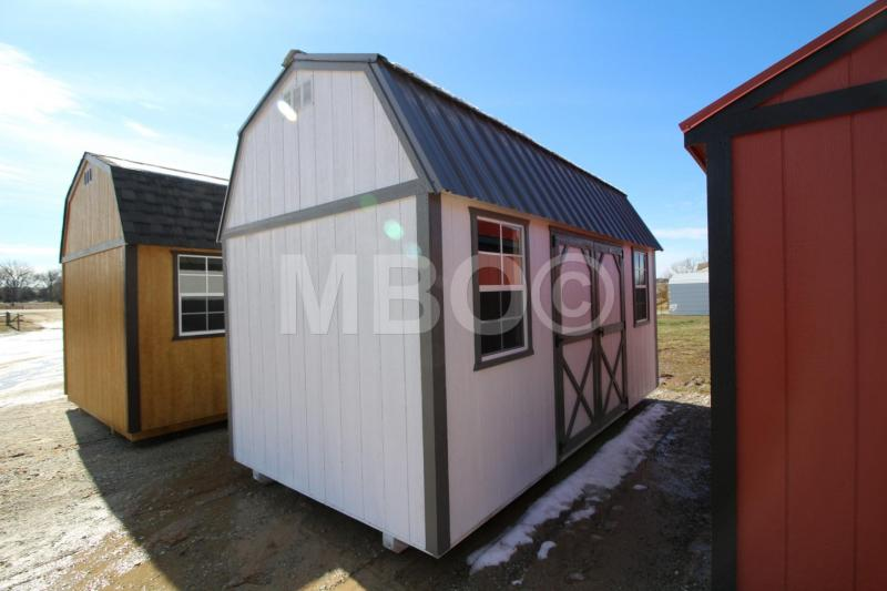 8x16 LOFTED BARN