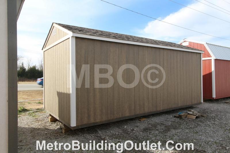 10X20 UTILITY STORAGE BUILDING