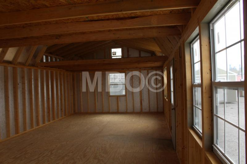 16X40 LOFTED BARN CABIN