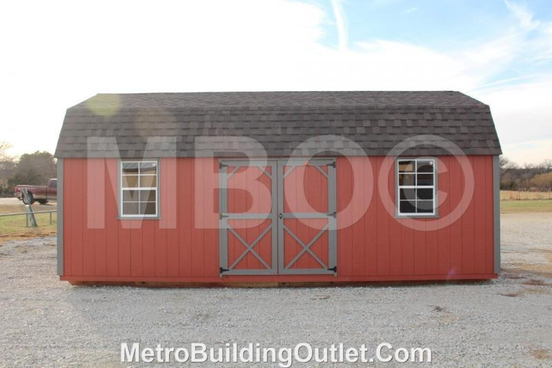 14x24 LOFTED BARN