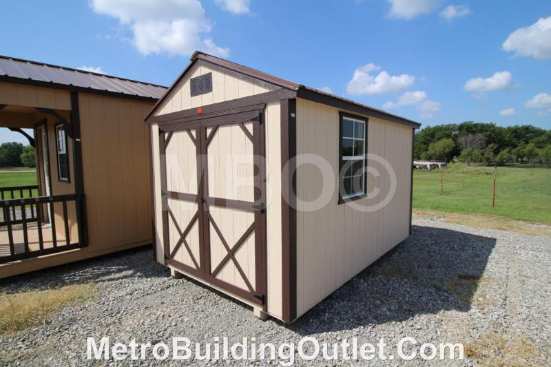 8X12 UTILITY STORAGE BUILDING PORTABLE SHED