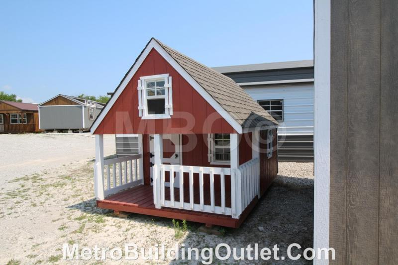 ***DISCOUNTED*** 8X12 HIDEOUT PLAYHOUSE / CHICKEN COOP