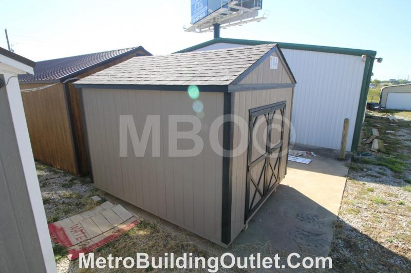 10X12 UTILITY STORAGE BUILDING PORTABLE SHED