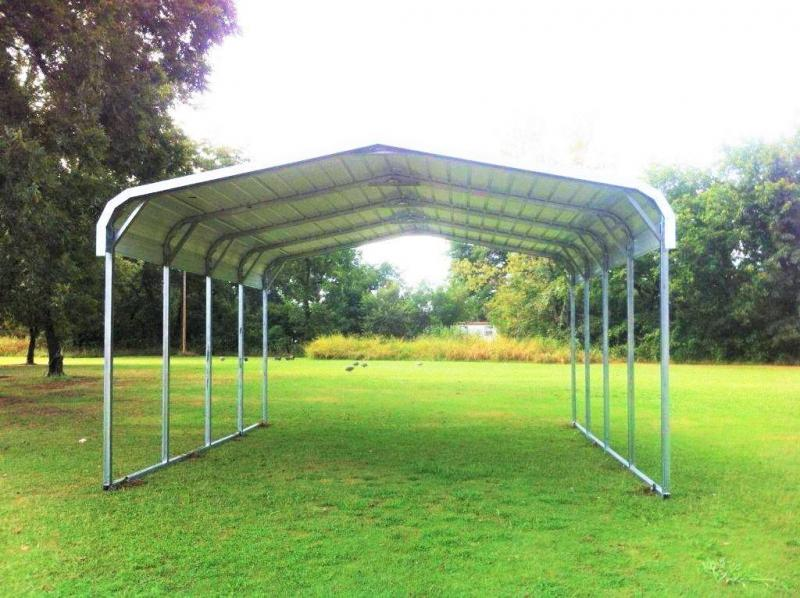 18X20X6 ROUNDED EAVE CARPORT