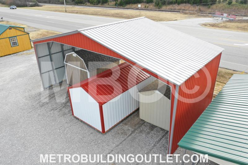 ***DISCOUNTED*** 40X20X14 Vertical Roof Carport DISPLAY