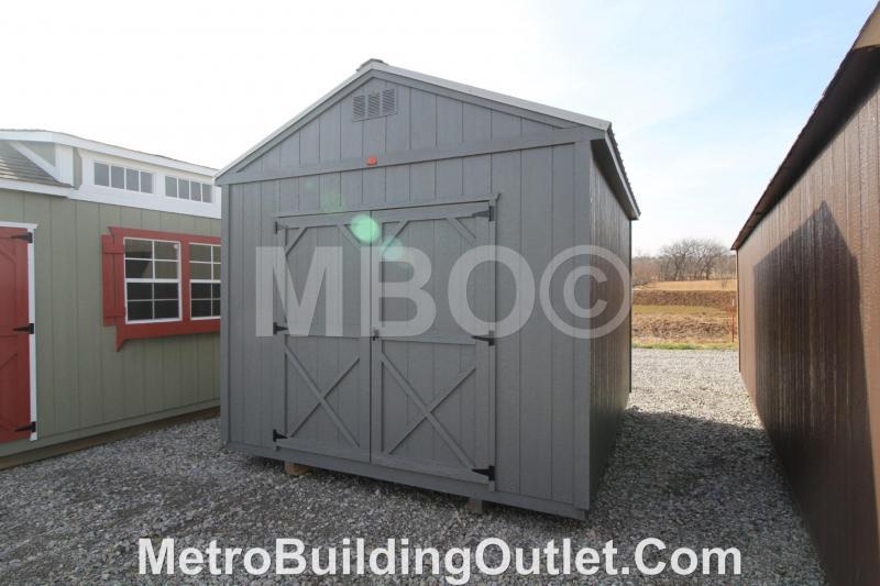 10X12 UTILITY STORAGE BUILDING