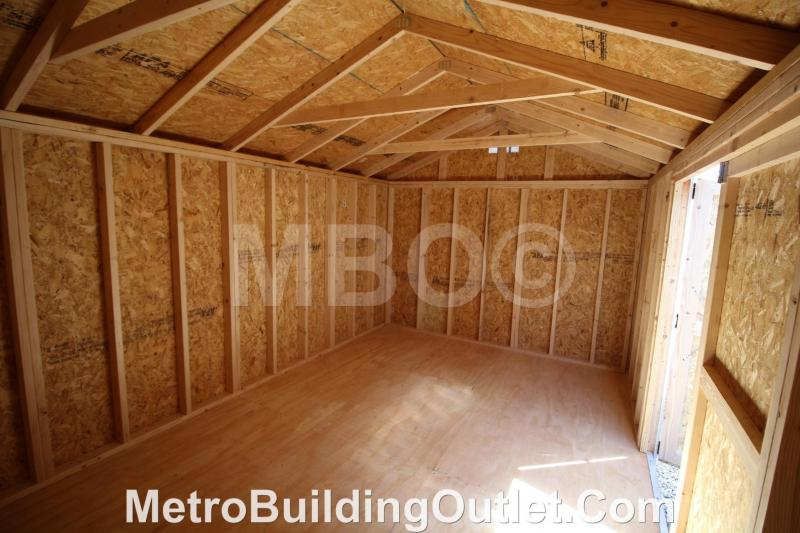 10X16 UTILITY STORAGE BUILDING PORTABLE SHED