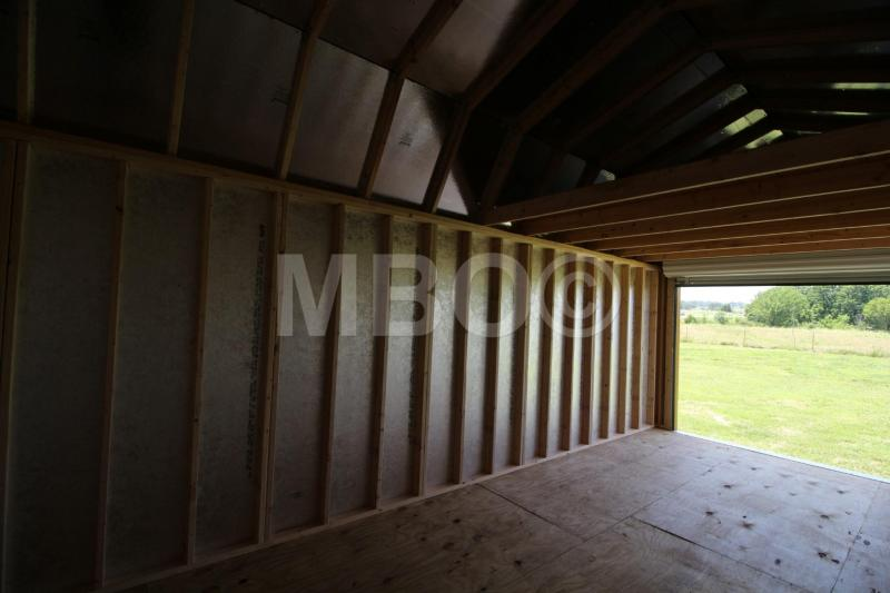 12X34 LOFTED BARN PORTABLE GARAGE