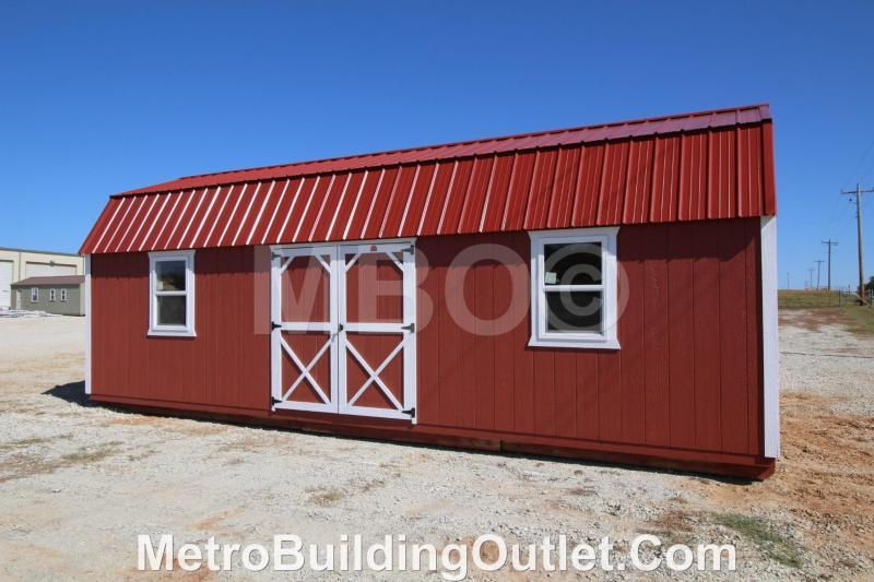 12x28 LOFTED BARN