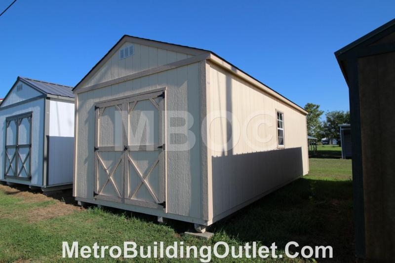 12x24 UTILITY STORAGE BUILDING