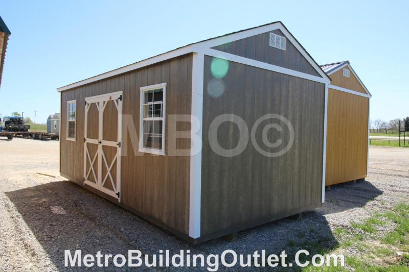 10X20 UTILITY STORAGE BUILDING PORTABLE SHED