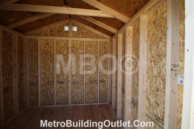 8X8 UTILITY STORAGE BUILDING