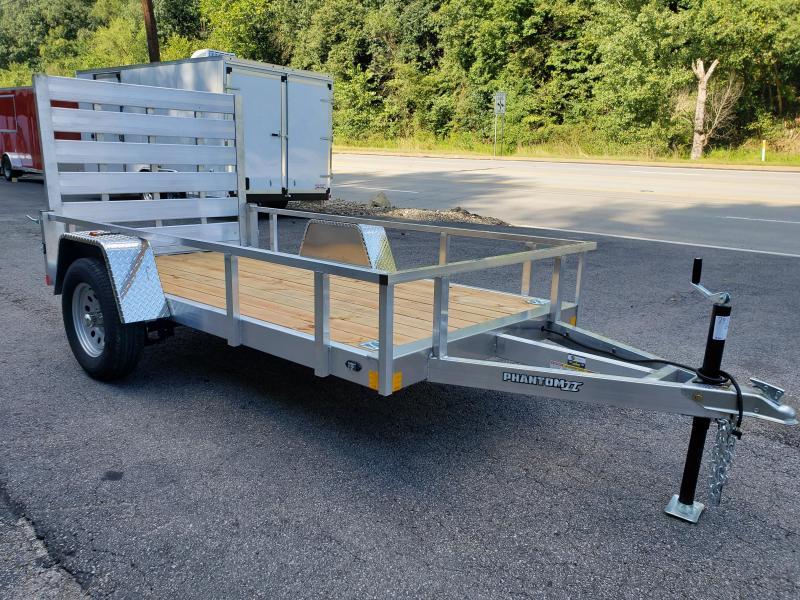 2021 Stealth Trailers 5x10 Phantom II Aluminum Utility Trailer