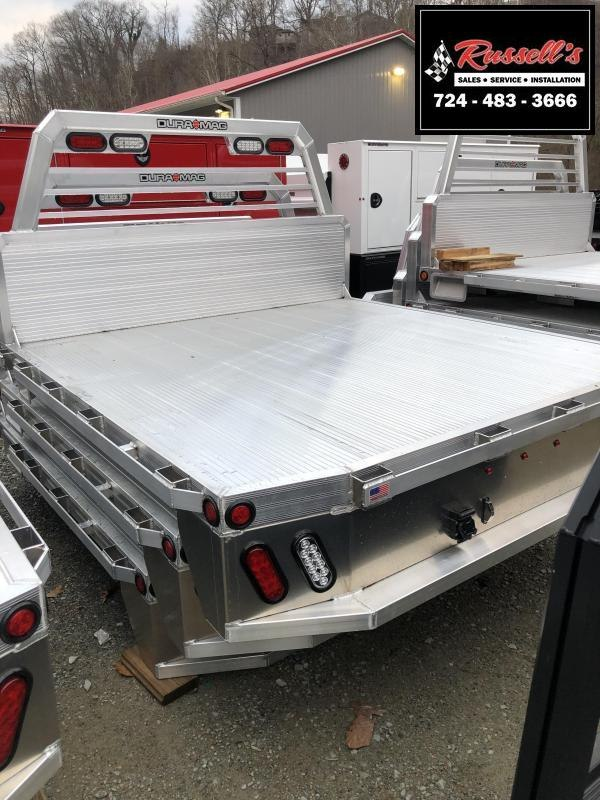 """DuraMag Aluminum 81"""" x 84"""" Deluxe Flatbed 99-16 Ford Shortbed"""