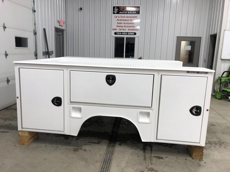 DuraMag S-Series Aluminum Service Body White SRW New 2020+ GM