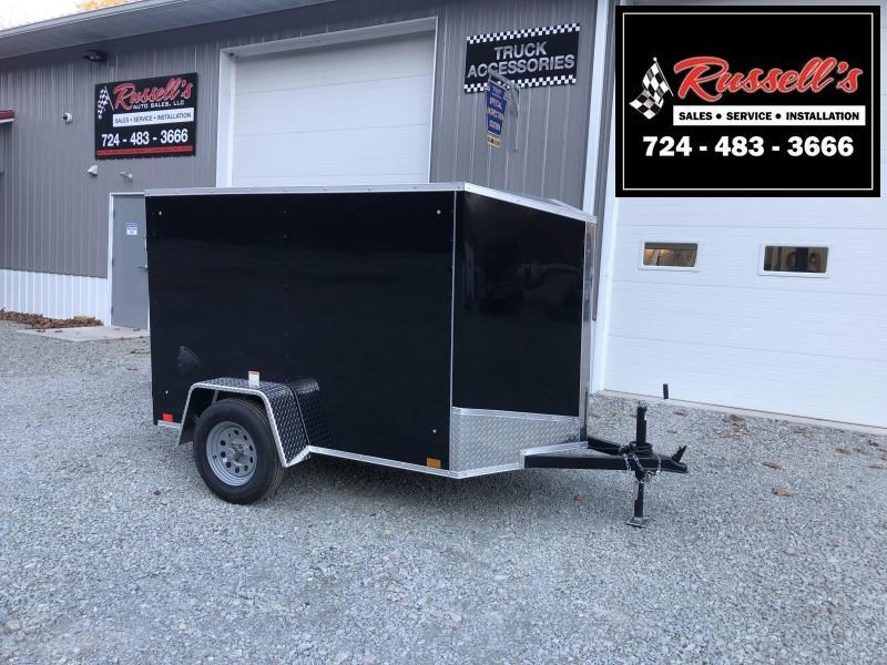 2021 Discovery Trailers 5x8 Rover ET Ramp Door Enclosed Cargo Trailer