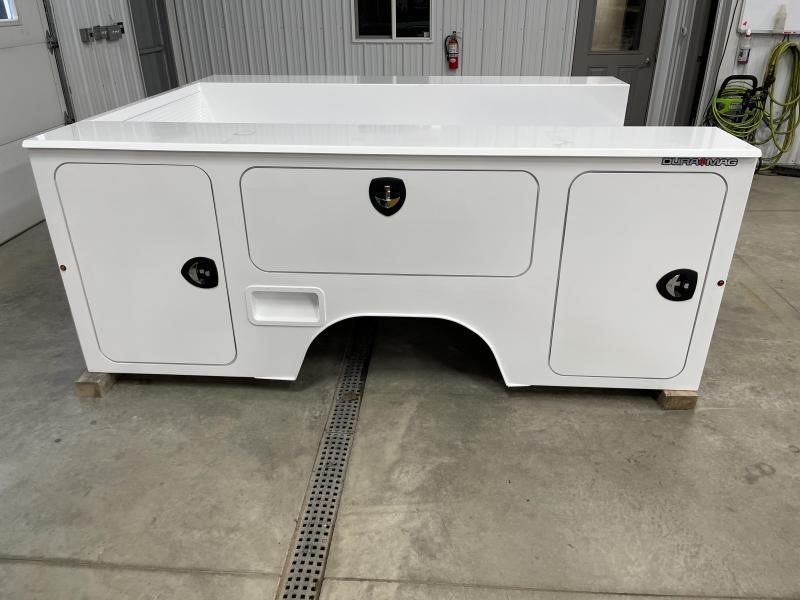DuraMag S-Series Aluminum Service Body White SRW