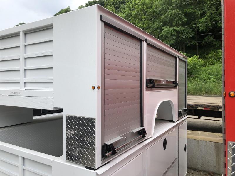 DuraMag R-Series Aluminum Service Body White SRW