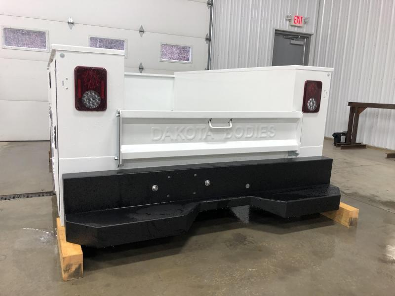 2021 Dakota Truck Bodies Gen 2 Service Body 56'' SRW Pickup Bed Removal