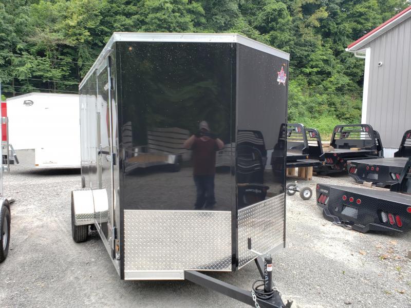 2020 US Cargo ULAFT 6x12 Ramp Door 6 Extra Height Enclosed Cargo Trailer