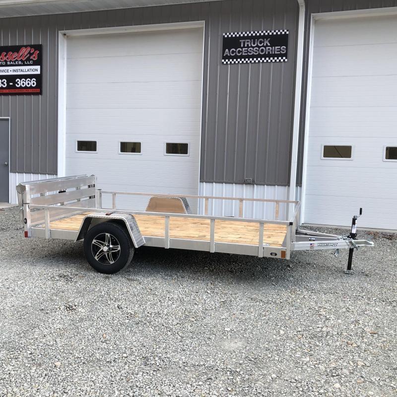 2021 Stealth Trailers 6.5x12 Phantom II Aluminum Utility Trailer