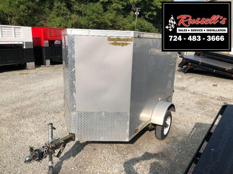 2017 Continental Cargo 4x6 Enclosed Cargo Trailer