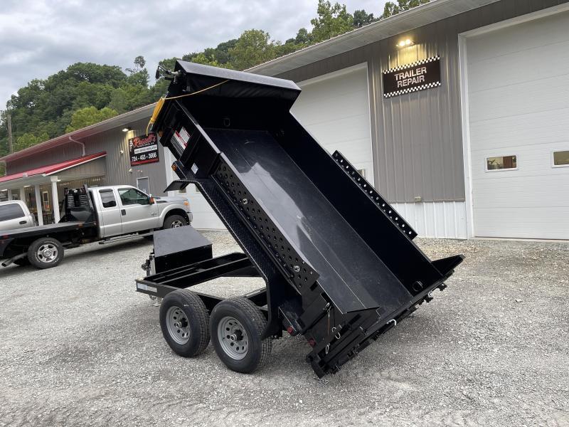 2021 Forest River 6x10 9800 GVW Dump Trailer