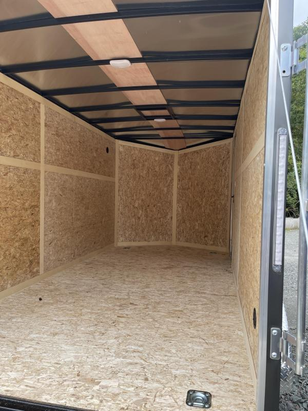 2022 Discovery Trailers 7x14 Rover SE 6'' Extra Height Ramp Door Enclosed Cargo Trailer