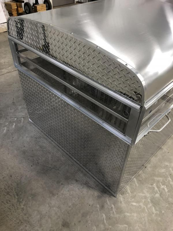 2021 US Cargo Stock Box 8' Truck Boxes (Livestock and Dog)