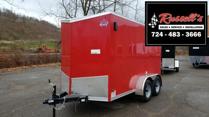 2020 US Cargo ULAFT 6x12 Tandem Axle 6'' Extra Height Enclosed Cargo Trailer