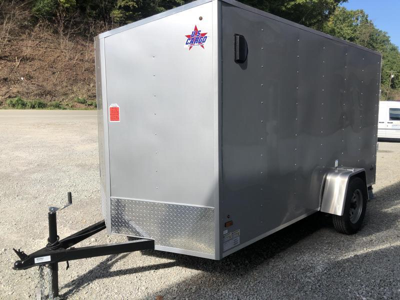 2022 US Cargo 6x12 LE Ramp Door Enclosed Cargo Trailer