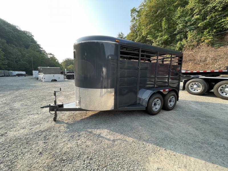2022 Calico Trailers 14 X 6' X 6'6'' Livestock Trailer