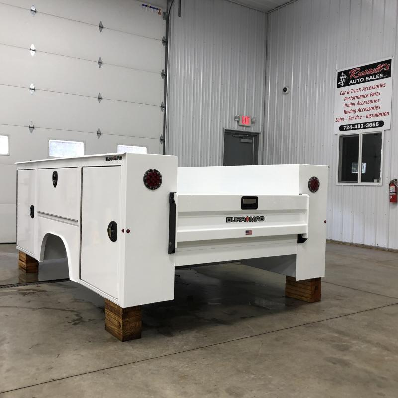 """DuraMag S-Series Aluminum Service Body 60""""ca Cab and Chassis SRW"""
